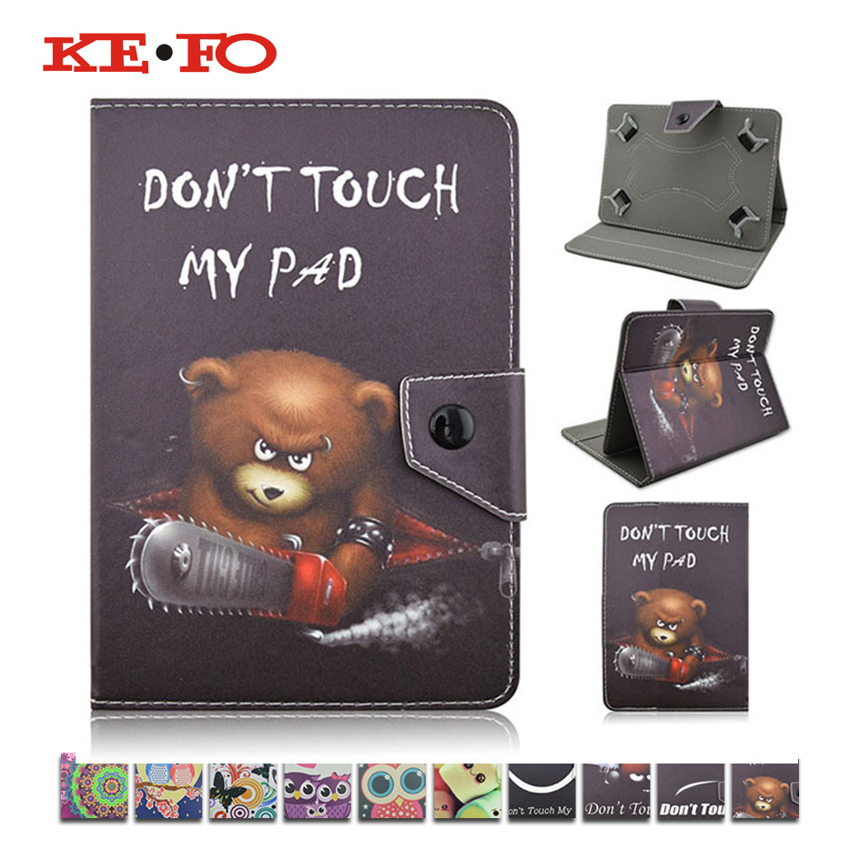 KeFo 7 inch tablet Case Cover funda stand cover For Lenovo Tab 3 7.0 710 essential tab3 710F tablet Protective Cases+3gifts