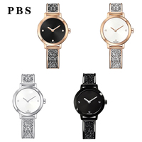 PBS High Quality 1:1 Exquisite Swa Jewelry Crystal Quartz Watches Logo Gifts Preferred Free Package Manufacturers Wholesale