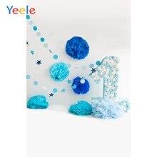 Yeele 1st Birthday Photozone Paper Flowers Decor Photography Backdrops Personalized Photographic Backgrounds For Photo Studio