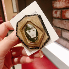 CX-Shirling Antique Lady Fashion Brooch Quality Brooches Jewelry For Female Coat Gifts