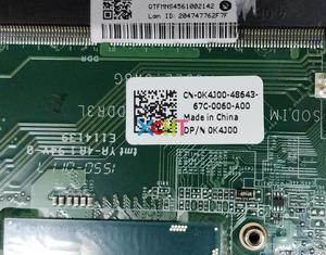 Image 3 - for Dell Vostro 5480 V5480 CN 0K4J00 0K4J00 K4J00 I3 4005U DAJW8GMB8C1 Laptop Motherboard Mainboard Tested