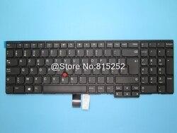 Klawiatura do laptopa Lenovo ThinkPad L570 belgia być 01AX657 01AX616 SN20L79841 nie podświetlany czarny nowy