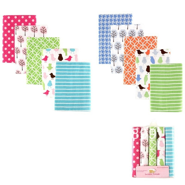 Hot Selling USA Luvable Friends Baby Flannel Receiving Blankets,cotton baby bedding