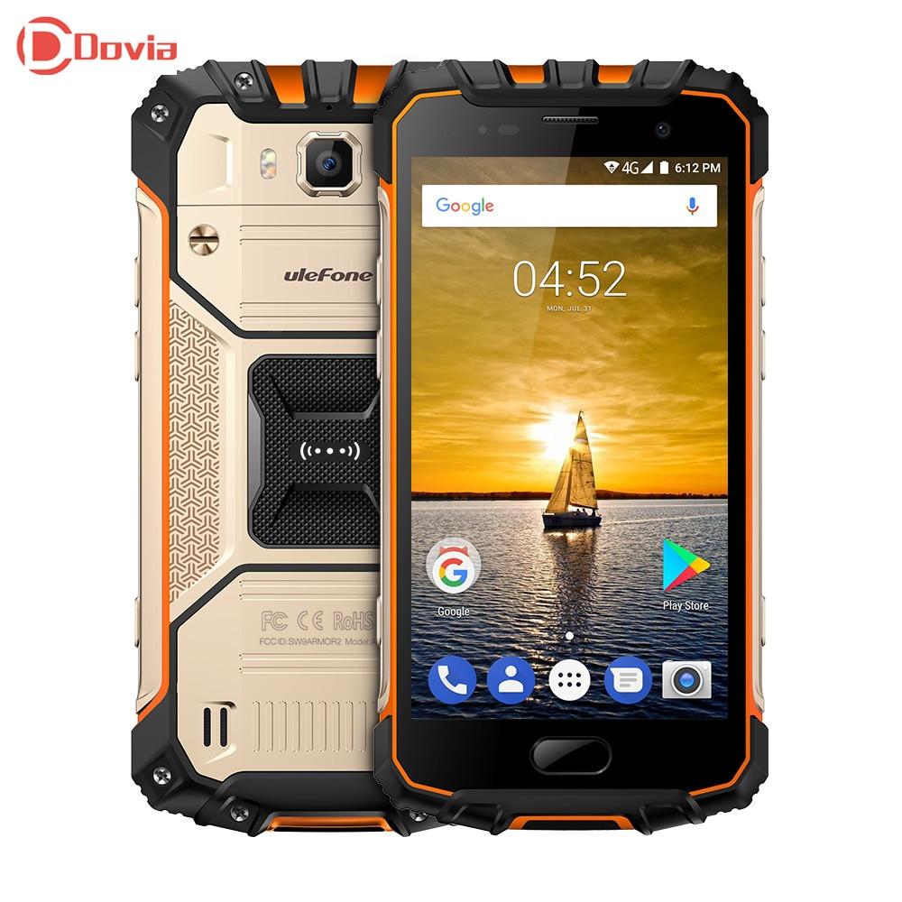 Ulefone Armor 2 4G Smartphone Android 7 0 5 0 inch Helio P25 Octa Core 6GB