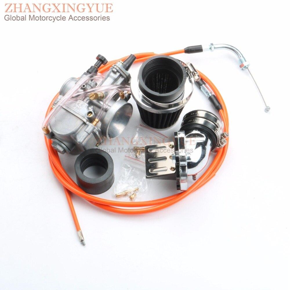24 мм карбюратор основной струй комплект для Yamaha Aerox Axis Breeze BWs 50CC PWK OKO