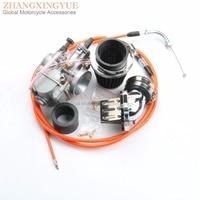 24mm Carburetor Main Jets Kit for Yamaha Aerox Axis Breeze BWs 50CC PWK OKO