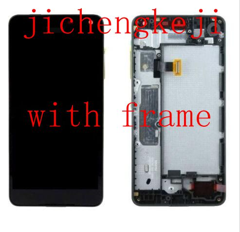 5.0 Oled For Microsoft Lumia 650 Lcd Display+Touch Glass Screen digitizer Frame Assembly free shipping