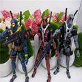 Deadpool Marvel X-men Solto Action Figure Model Collection Toy dolls 3 Cores 18 CM
