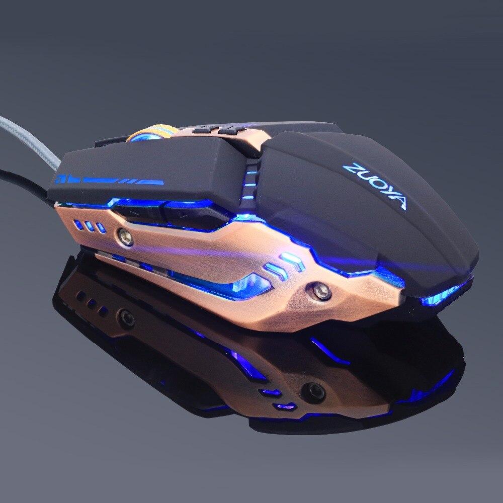 ZUOYA Gaming Mouse 3200DPI реттелетін тыныс - Компьютерлік перифериялық құрылғылар - фото 4