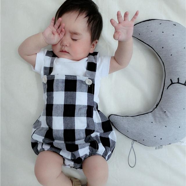Roupas de bebê menino xadrez geral do bebê menina com roupas hairhand roupa dos miúdos