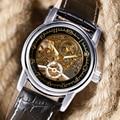 2017 Luxury Skeleton Gold Watch MG.ORKINA Wrist Watch Mechanical Hand Wind Watches Men's Casual Fashion Clock erkek kol saati