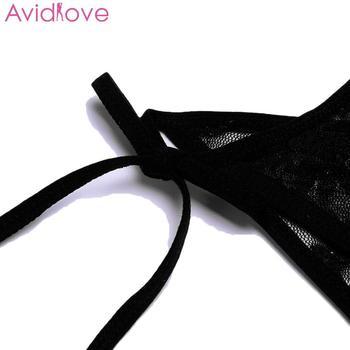 Avidlove Women Bodystocking Erotic Hot Body Suit Teddy Sexy Lingerie Sleepwear Lace Babydoll Bodysuit mujer lenceria femenina 6