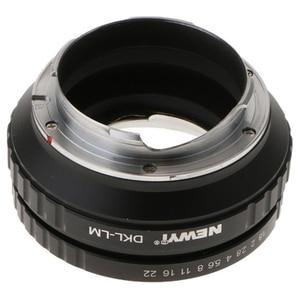 Image 4 - NEWYI DKL LM Adapter für Voigtlander Retina Deckel Objektiv Leica M TECHART LM EA7 kamera Objektiv Konverter Adapter Ring