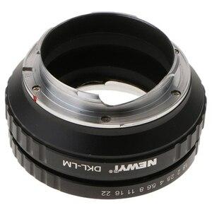 Image 4 - NEWYI DKL LM adaptateur pour Voigtlander Retina Deckel lentille à Leica M TECHART LM EA7 caméra lentille convertisseur adaptateur anneau