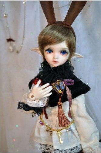SUDOLL 1/4 Dolls Girl Elf Ears- resin free eyes BJD/SD Doll stenzhorn stenzhorn tiny lutosil series tyltyl elf ears and eyes 1 8 sd bjd toy spinner doll the spot