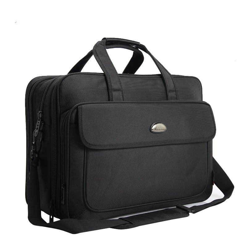 6601 New Fashion Business Man Bag Large Capacity Briefcase Oxford Shoulder Bag Handbag Kit Computer Bag Oxford Briefcase