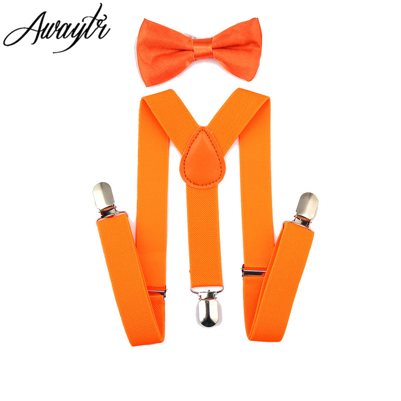 Awaytr Kids Suspenders 2017 Boys Boys Adjustable Elastic Clip On Baby - Αξεσουάρ ένδυσης - Φωτογραφία 5