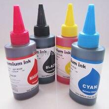 Freies Verschiffen 100 ML x 4 STÜCKE LC669 Drucker Dye-tinte Für Brother MFC-J2320 MFC-J2720 Tintenstrahldrucker BK M Y C