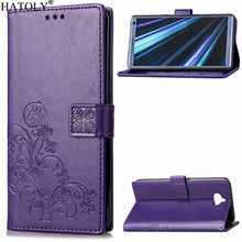 Phone Case For Sony Xperia XA3 Cover Flip Silicone  Leather Wallet Funda