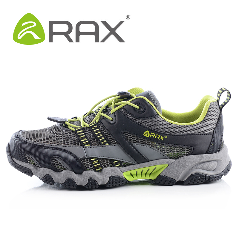 RAX Men Breathable Outdoor Hiking Shoes Men Lightweight Trekking ...