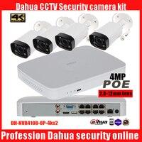 Dahua HD 1080P PoE 8PCS 4MP IPC HFW4433R Z IP Network CCTV Home Security Camera System