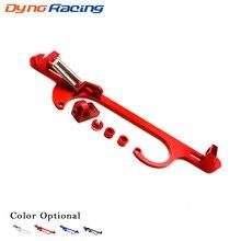 4150 4160 Series Black Red Blue Silver Billet Aluminum Throttle Cable Carb Bracket YC101100
