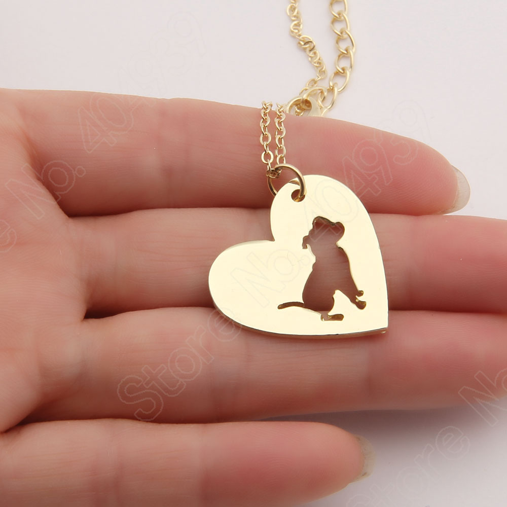 1pcs pitbull necklace pendant pit bull heart pendant dog memorial 1pcs pitbull necklace pendant pit bull heart pendant dog memorial pet necklaces pendants women animal charms christmas gift in choker necklaces from aloadofball Choice Image