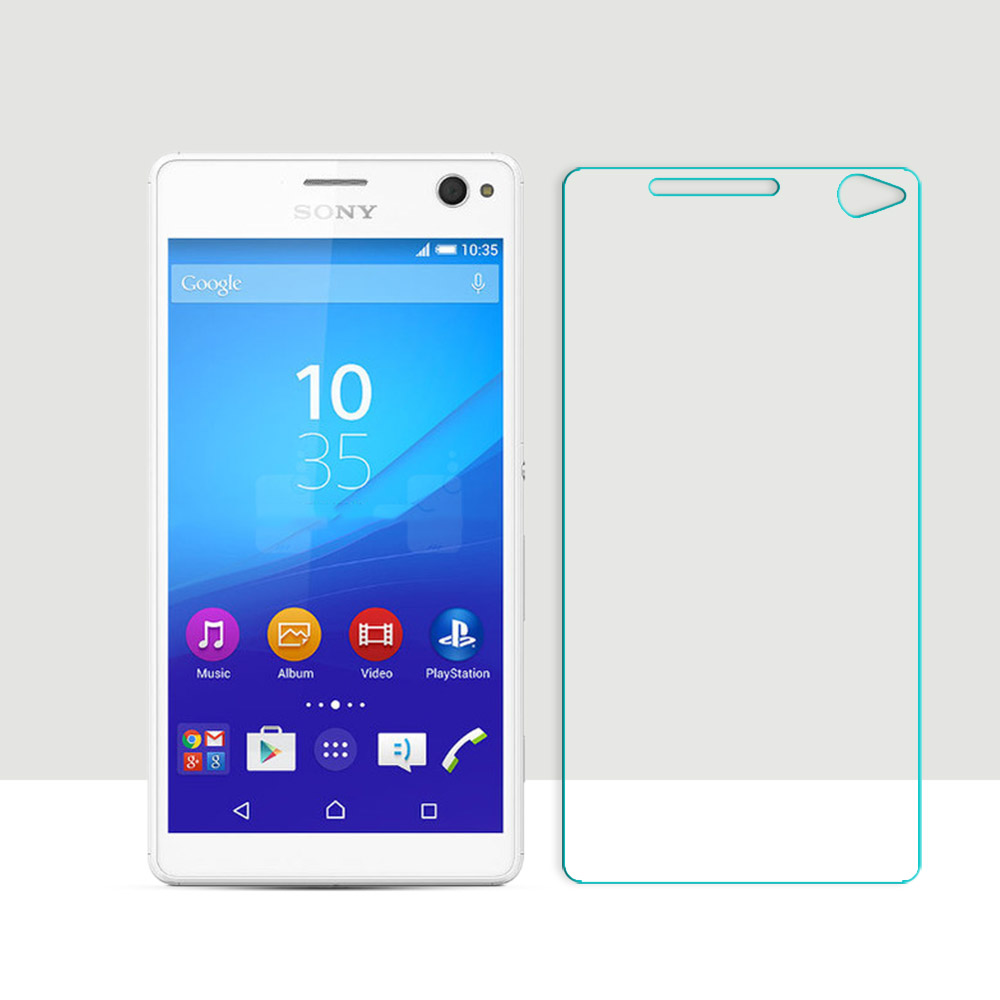 Ultra Thin Tempered Glass For Sony Xperia C4 E5303 E5306 Screen Protector Protective Film for Sony Xperia C4 Phone glass film