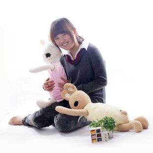 Игрушек! Супер милая плюшевая игрушка прекрасный le sucre кролик папа стиль nap подушка мягкая кукла подарок на день рождения 70 см 1 шт