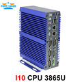 DDR4 Mini PC Fanless PC With Kaby Lake Intel Celeron Processor 3865U 4*COM 2*LAN 2*USB3.0 *2USB2.0