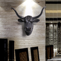 Большой крытый и открытый украшения двери бар животных тау Средиземноморской деревни стене висит стены специальное предложение