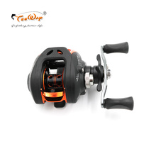 Teeway Stealth Karbon Super Ringan Tubuh 200g 6.3: 1 Segar/Garam Air Baitcasting Fishing Reel Fishing Reel