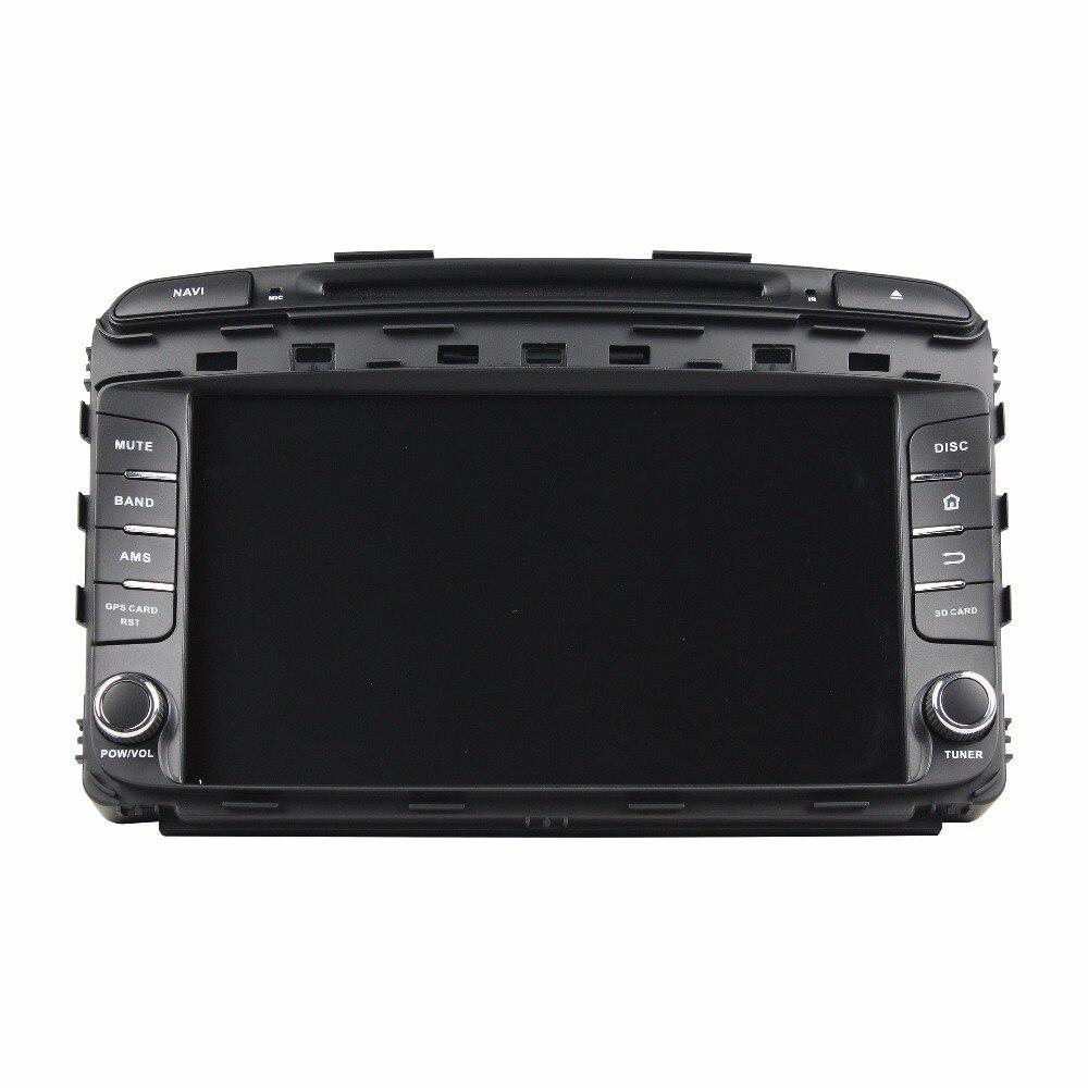 Android 8.0 octa base 4 GB RAM lecteur dvd de voiture pour KIA SORENTO 2015 ips écran tactile tête unités magnétophone radio