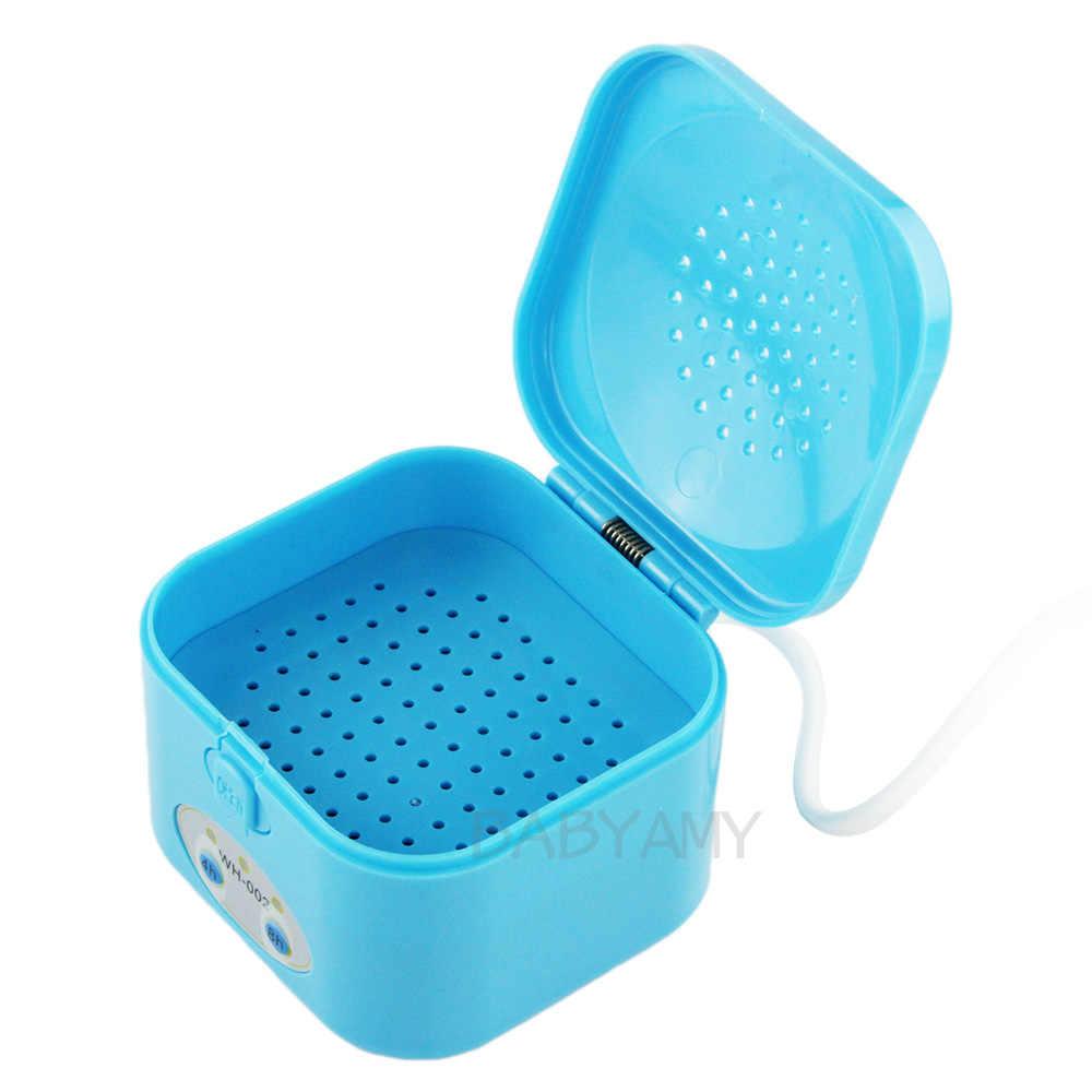 220 V appareil auditif sèche 4/8 heure minuterie boîtier de séchage boîte électronique Drybox déshumidificateur protéger les aides auditives IEM moniteurs intra-auriculaires