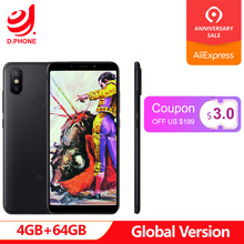 Ispanya Küresel Sürüm Xiao mi mi A2 4 GB RAM 64 GB ROM Snapdragon 660 Octa çekirdek 5.99