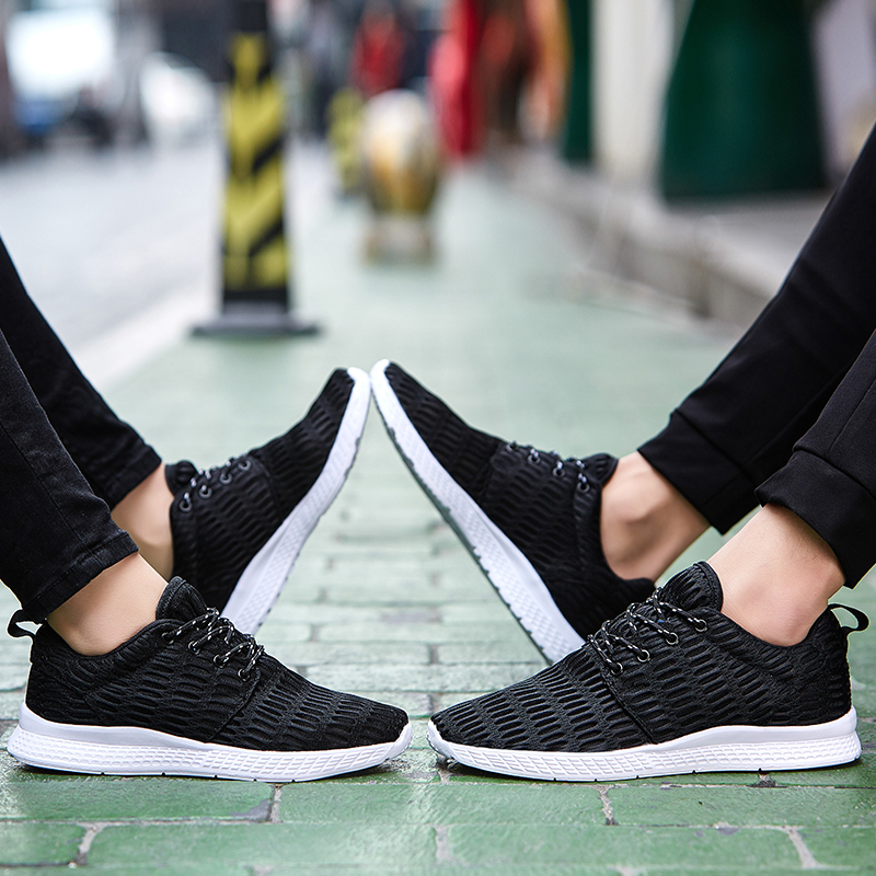 Valentine Shoes Woman Sport Casual Shoes Women Trainers Flat Heel Low Top Women Shoes Outdoor Air Mesh Runner Shoes Flats ZD66 (24)