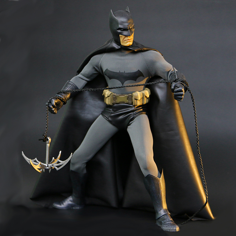 Batman 1/6th Scale Collectible Joint Move Action Figure Real Clothes 12 30cm crazy toys batman 1 6th scale real clothes action figure collectible model toy 12 30cm retail box wu962