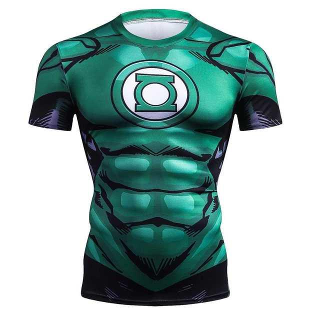 The Flash Marvel Superhero Men T Shirt 3d Printed Compression