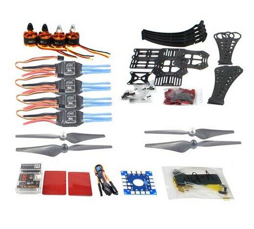 F14892-E DIY RC Drone Quadrocopter X4M360L Kit Marco QQ Super Control de Vuelo