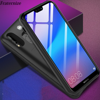 P20 Shockproof battery case For Huawei Nova 3e P20 Lite Backup power bank charger Cases For Huawei P20 Pro Charging Cover Capa ntspace 6500mah for huawei honor 9x pro battery charger cases backup power bank shockproof cover for huawei honor 9x power case