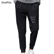 Spring Breathable Pants Skinnly Pencil Pants Men Slim Fit Mens Casual Pants Straight Elastic Trousers Pencil Feet Pants Men
