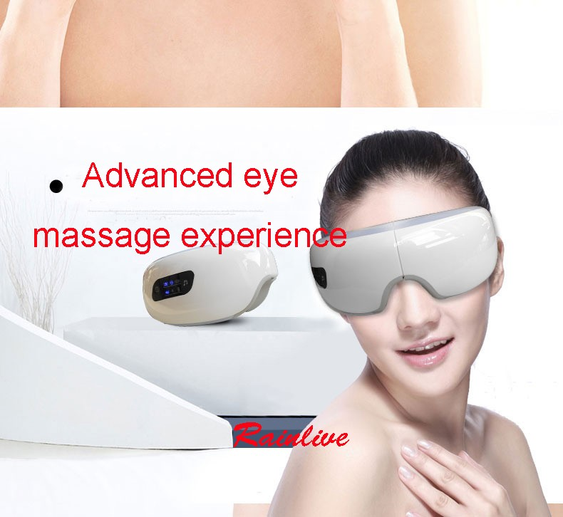 Eyes SPA Music SPA Electric Air pressure Eye massager . Wireless Vibration Magnetic heating therapy massage device. 26
