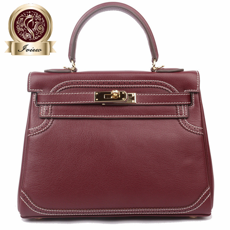2017 New Women's handbags famous brands top quality Genuine leather bags designer brand picotin lock ladies shopping bag недорого