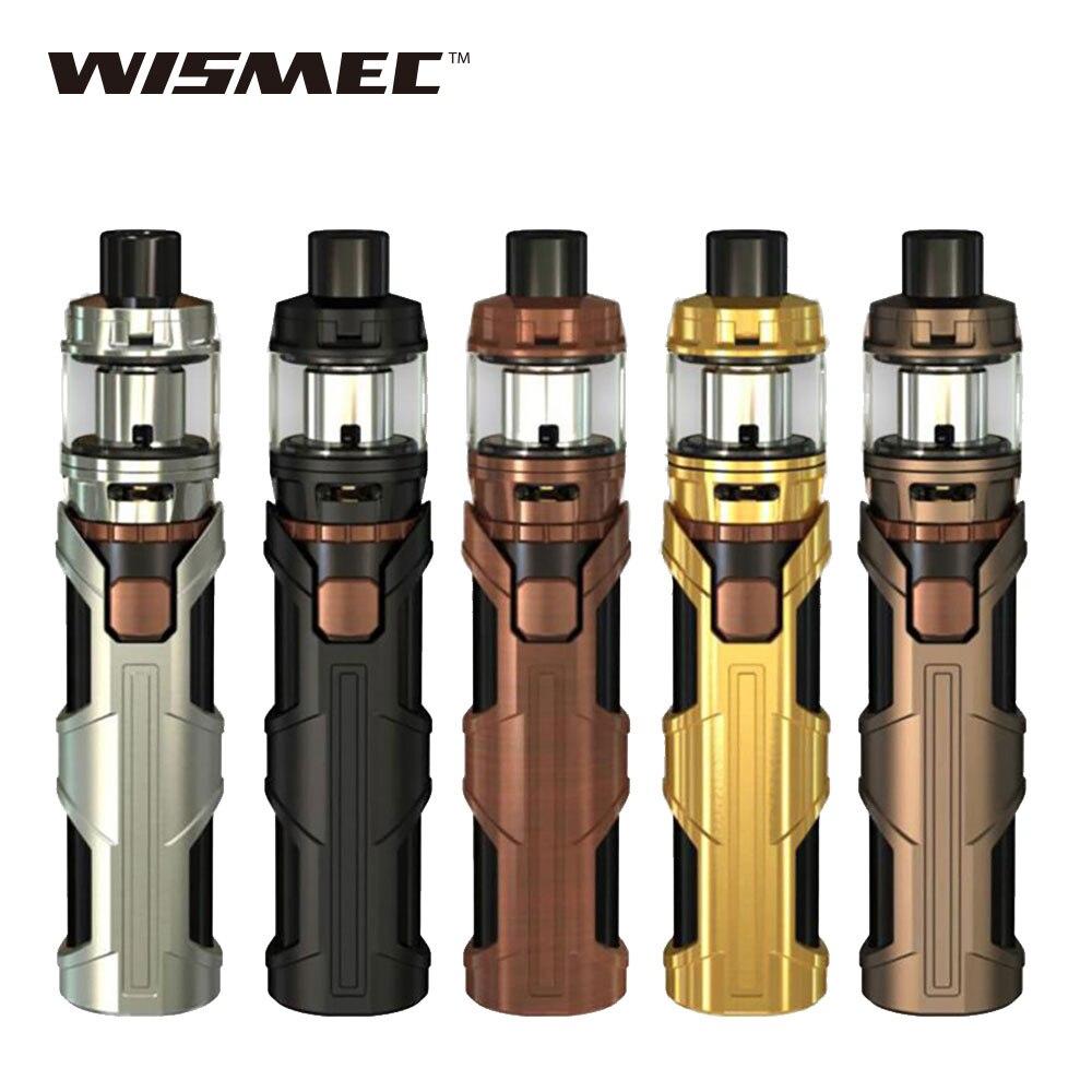D'origine WISMEC SINUEUX SW Kit 3000 mAh Construit dans La Batterie 4 ml Elabo SW Atomiseur avec WS01 Triple 0.2ohm Tête SINUEUX SW Mod Vaporisateur