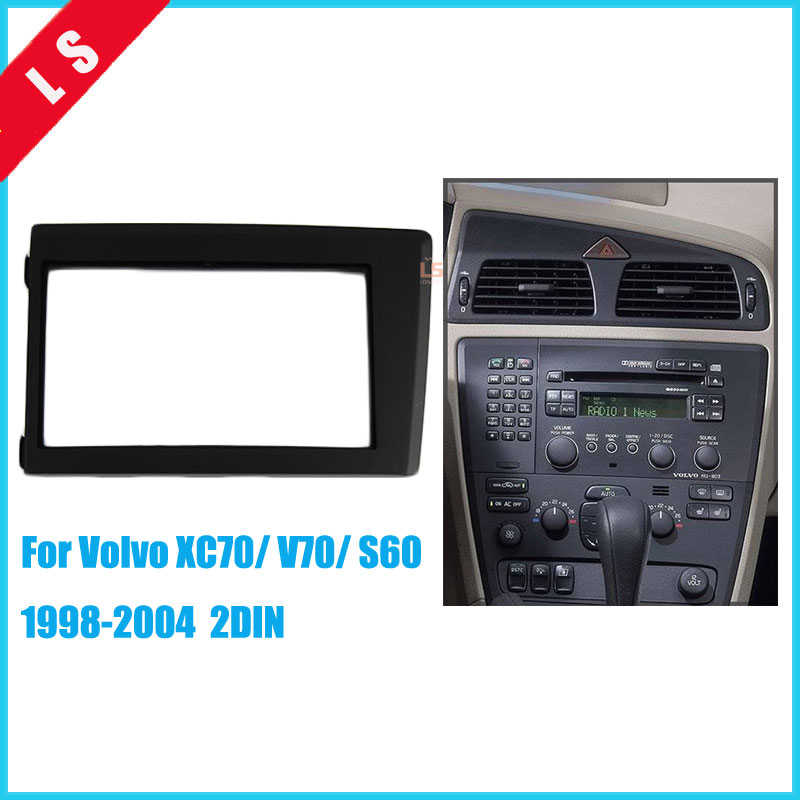 Double 2Din Car Radio Fascia For 1998 1999 2000 2001 2002
