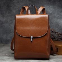 Newhotstacy мешок 110316 женщин geniune кожа европейский и американский стиль рюкзак дорожная сумка