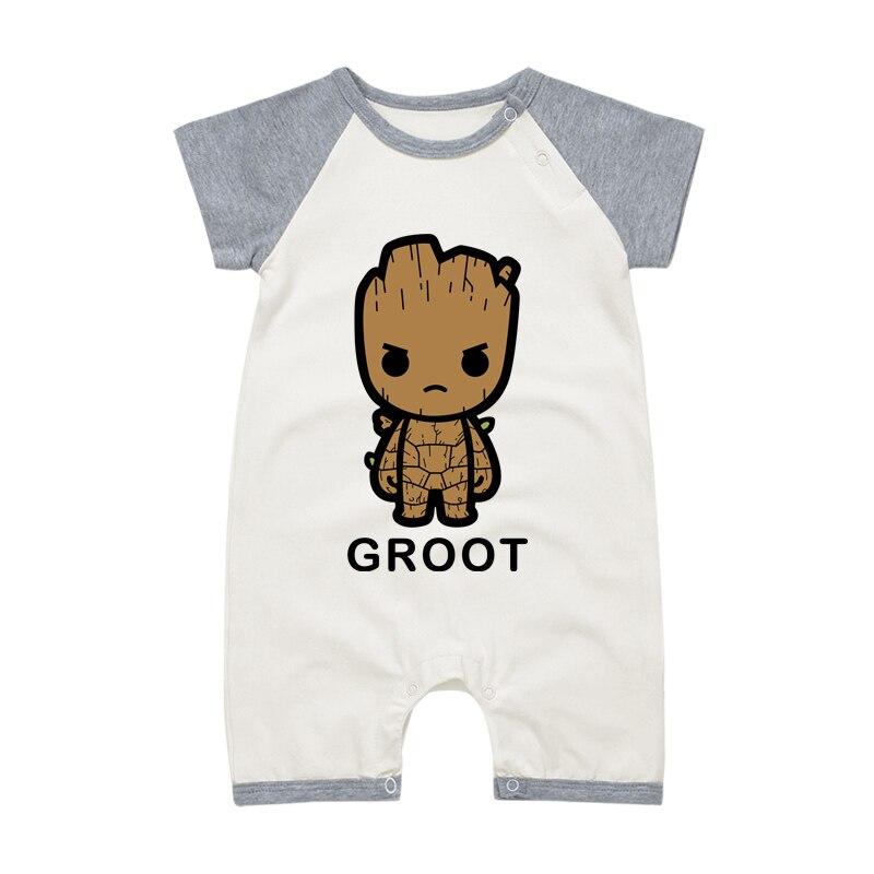 Toddle Babyspielanzug Cartoon Neugeborene Kleidung Kurzarm Cartoon Babys Junge Mädchen Overall Outwear Baby Kleidung 0-18 Monate