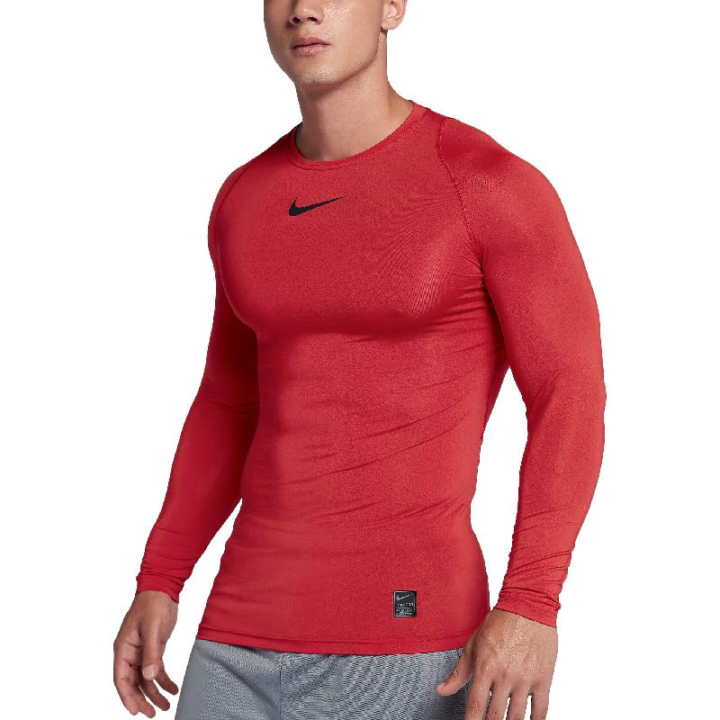 цена Nike Pro Long Sleeve T-Shirt M NP TOP LS COMP TmallFS онлайн в 2017 году