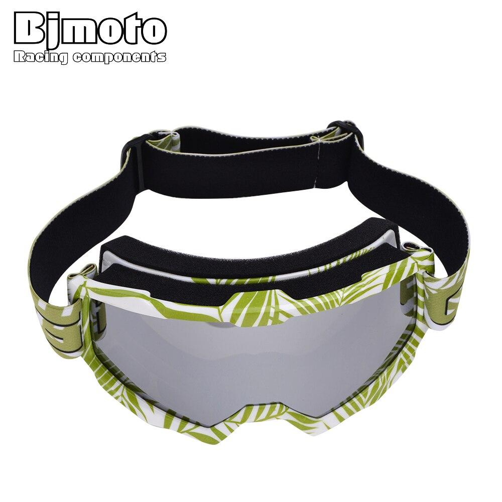 BJMOTO Motocross Goggles Anti-distortion Dustproof Glasses Anti Wind Eyewear Motorcycle Goggle ATV Off Road Dirt Bike For Helmet