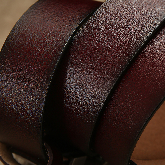 [LFMB]belt male leather belt men strap male genuine leather luxury pin buckle belts for men belt Cummerbunds ceinture homme 4